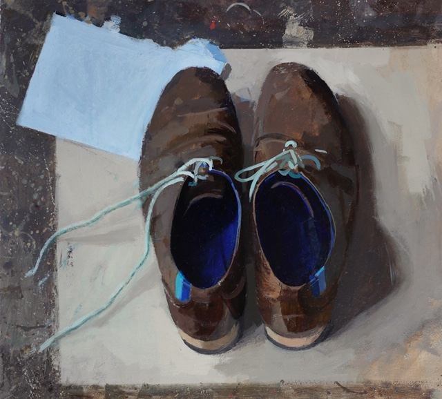 A Painting of My Favorite Shoes by Helen Wilson